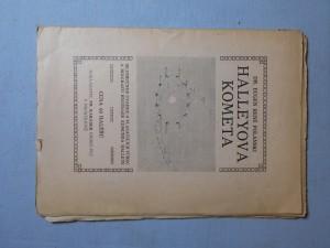 náhled knihy - Halleyova kometa : Se stručnou úvahou o vlastencích vůbec a biografií hvězdáře Edmunda Halleye