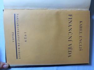 náhled knihy - Finanční věda : nástin theorie hospodářství veřejných svazků