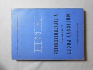 náhled knihy - Maticový počet a jeho použití v elektrotechnice
