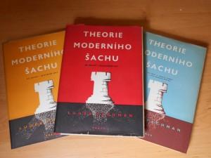 náhled knihy - Theorie moderního šachu.Díl 1, Otevřené hry, Díl 2, Polozavřené hry, Díl 3, Dámský gambit a hry dámským pěšcem