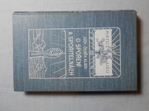 náhled knihy - O spoření a spořitelnách