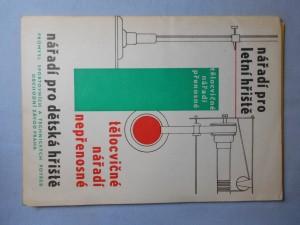 náhled knihy - Nářadí pro dětská hřiště : Tělocvičné nářadí nepřenosné, nářadí pro letní hřiště, tělocvičné nářadí přenosné