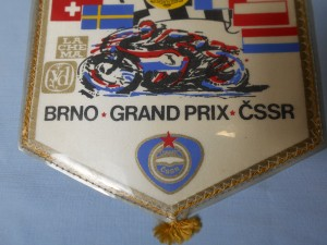 náhled knihy - Grand prix Brno ČSSR, vlajka