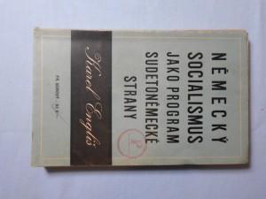 náhled knihy - Německý socialismus jako program sudetoněmecké strany
