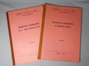 náhled knihy - Sportovní gymnastika na středních školách : určeno pro posl. fak. pedagog., Sportovní gymnastika na 2. stupni základní školy