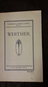 náhled knihy - Werther: lyrické drama o 3 dějstvích