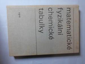 náhled knihy - Matematické fyzikální chemické tabulky