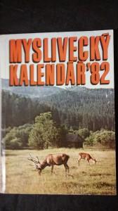 náhled knihy - Myslivecký kalendář  1982