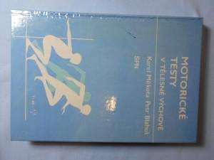 náhled knihy - Motorické testy v tělesné výchově