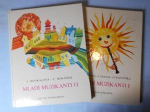 náhled knihy - Mladí muzikanti I, II : knížka o hudbě pro 2. ročník lidových škol umění