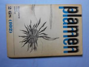 náhled knihy - Plamen 2/68(102) : Měsíčník pro literaturu, umění a život, ročník desátý, únor.