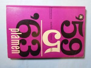 náhled knihy - Plamen 8/63 : Měsíčnník pro literaturu, umění a život, ročník pátý, srpen.