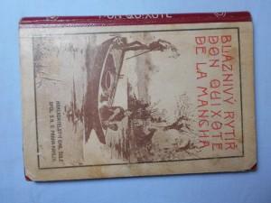 náhled knihy - Bláznivý rytíř Don Quixote de la Mancha (1895)