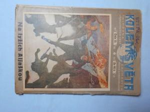 náhled knihy - Kolem světa , číslo 10. : Na lyžích zemí zlata a kožešin