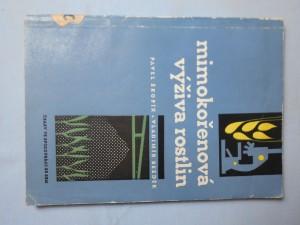 náhled knihy - Mimokořenová výživa rostlin