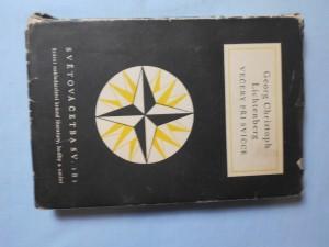 náhled knihy - Večery při svíčce