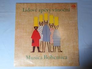 náhled knihy - Lidové zpěvy vánoční – Musica Bohemica