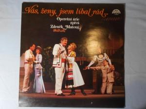 náhled knihy - Operetní árie zpívá Zdeněk Matouš – Vás ženy, jsem líbal rád...