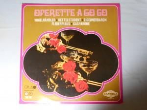náhled knihy - Operette a go go – Vogelhändler, Bettelstudent, Zigeunerbaron, Fledermaus, Gasparone