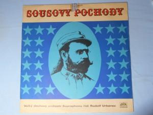 náhled knihy - Sousovy pochody – Velký dechový orchestr Supraphonu řídí Rudolf Urbanec