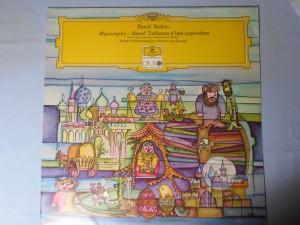 náhled knihy - Ravel: Bolero, Mussorgský – Ravel: Tableaux d'une exposition