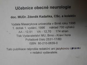 náhled knihy - Učebnice obecné neurologie