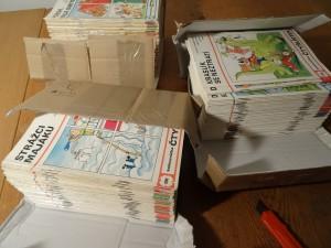 náhled knihy - čtyřlístky cca 50 - 200 čyřlístek, veselé obrázkové čtení
