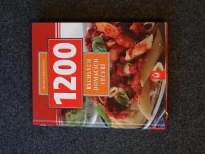 náhled knihy - 1200 rychlých domácích večeří