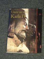 náhled knihy - Umění na dvoře Karla IV.