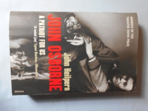 náhled knihy - John Osborne: A patriot for us