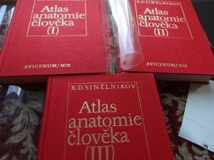 náhled knihy - Atlas anatomie člověka. Díl 1,2,3.