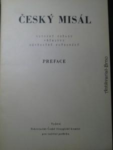 náhled knihy - Český Misál - vstupní obřady, přímluvy, závěrečné požehnání