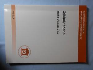 náhled knihy - Základy financí