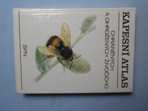 náhled knihy - Kapesní atlas chráněných a ohrožených živočichů. 1. díl
