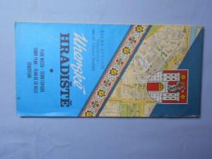 náhled knihy - Uherské Hradiště - plán města.