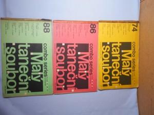 náhled knihy - Malý taneční soubor : Combo series piano, trombone - 74., 86., 88.