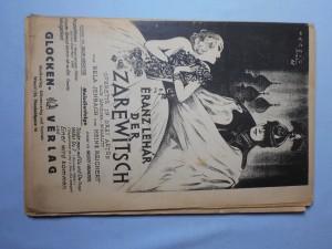 náhled knihy - Der Zarewitsch operete in drei akten