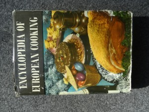 náhled knihy - Encyclopedia of European cooking