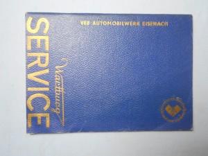 náhled knihy - Veb automobilwerk eisenach : Wartburg service