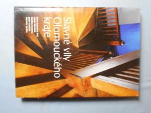 náhled knihy - Slavné vily Olomouckého kraje