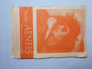 náhled knihy - Vergilius Aeneis : ukázkové číslo v polovičním rozsahu