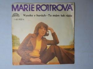 náhled knihy - Marie Rottrová - Vysoko v horách, To mám tak ráda