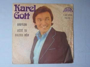 náhled knihy - Karel Gott - Babylon,  Ještě to daleko mám