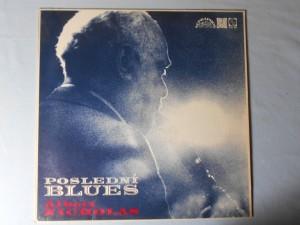 náhled knihy - Albert Nicholas -  Poslední blues