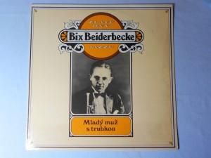 náhled knihy - Bix Beiderbecke - Zlaté dny Jazzu - Mladý muž s trubkou