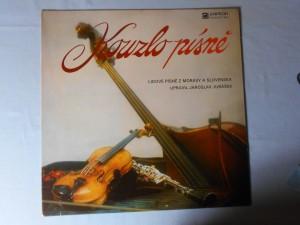 náhled knihy - Kouzlo písně - Lidové písně z Moravy a Slovenska upravil Jaroslav Jurášek