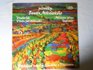 náhled knihy - Písničky Fanoša Mikuleckého - Vínečko bílé, V širém poli studánečka, Mikulecká dědina, Bude večer