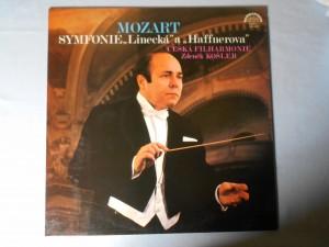 náhled knihy - Česká filharmonie, Zdeněk Košler, Wolfgang Amadeus Mozart - Symfonie  Linecká a Haffnerova