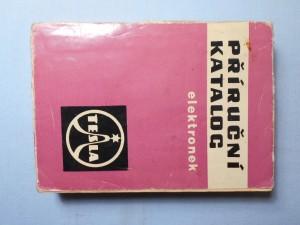 náhled knihy - Příruční katalog elektronek 1966/67