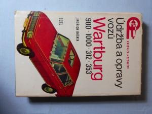 náhled knihy - Údržba a opravy vozů Wartburg 900, 1000, 312, 353